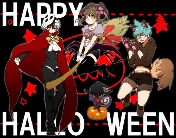 soul eater version hallowen