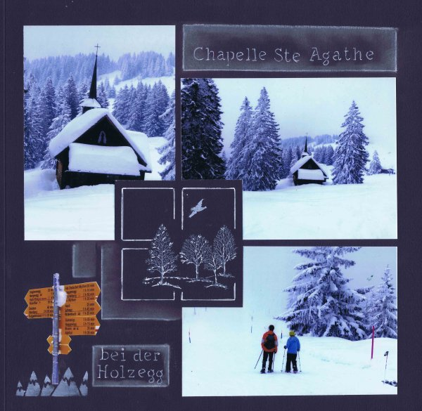 Chapelle ste Agathe en suisse
