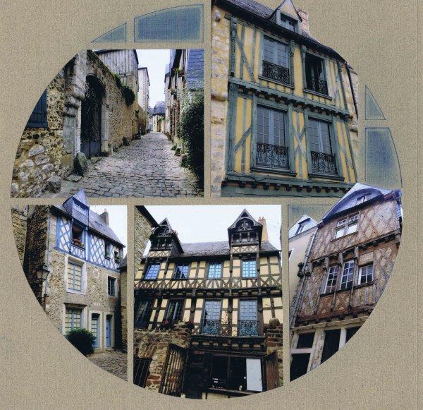 les vieilles maisons du mans