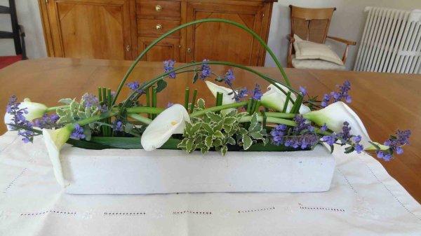 composition florale de mai