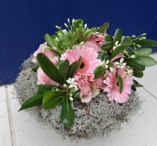 un bouquet rond
