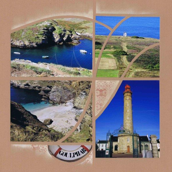 Belle île le phare de Goulphar