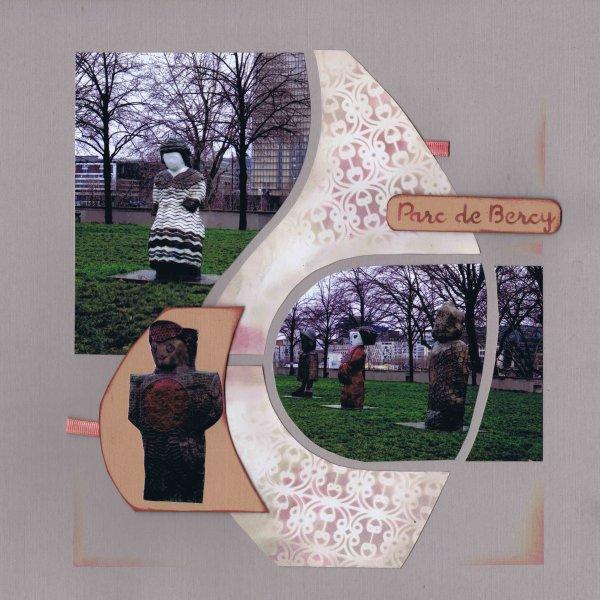 les statues du parc de Bercy