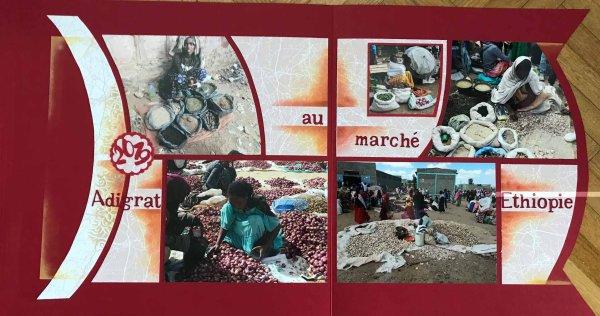 un marché en Ethiopie