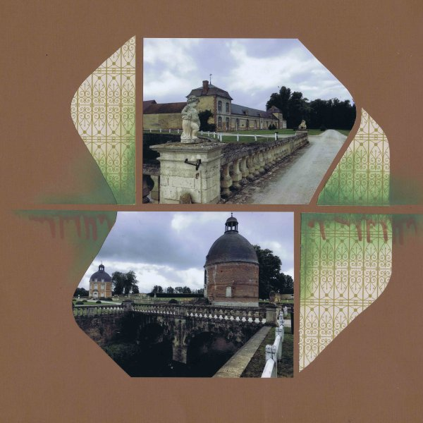 le Chateau de Médavy dans l'Orne