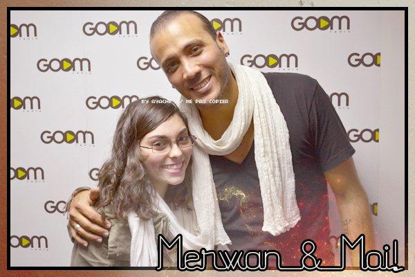 | Rencontre avec Merwan Rim à GOOM Radio le 3 Mai 2011 |