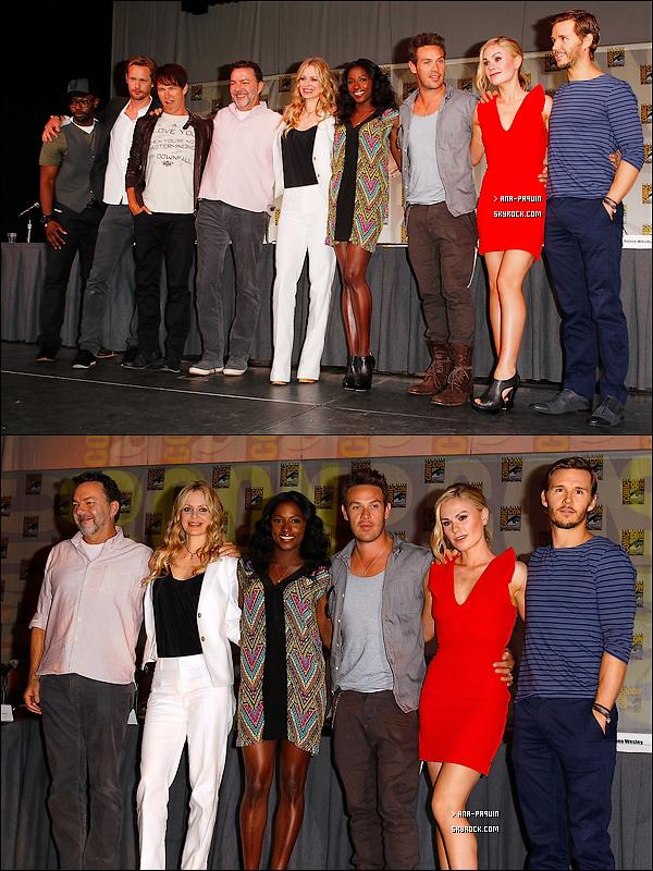 22/07/11 - La team True Blood s'est rendu aux Comic-Con 2011 qui se tenait à San Diego.