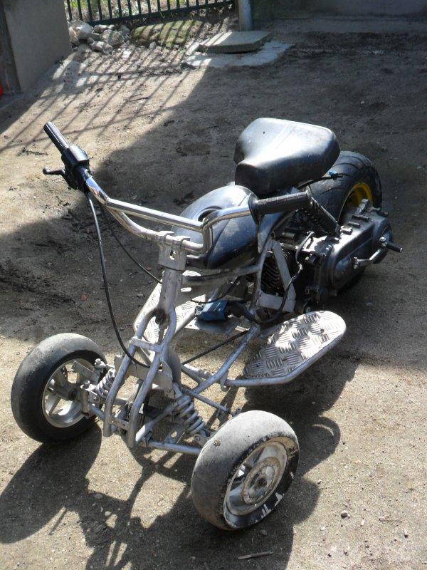 pocket quad modifier en trois roue moto a donf. Black Bedroom Furniture Sets. Home Design Ideas