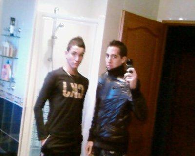le frere et moi :)