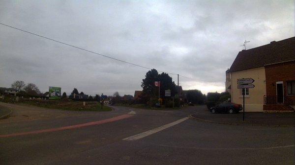 PETIT DECRASSAGE  LUNDI 30 KM  VIMY /  MONT ST ELOI
