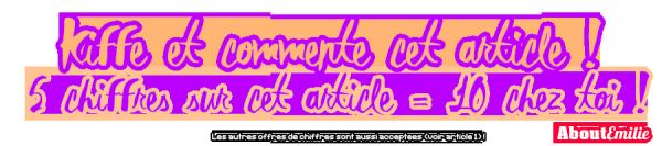 Côte de popularité (Semaine 2)