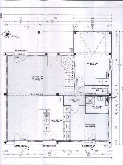 plan de maison kerbea