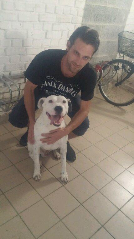 Mon chien diego et moi