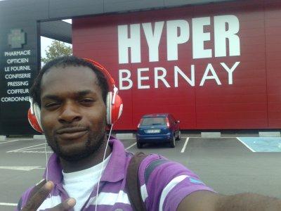 moi à Bernay