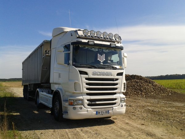 Mon camion R480