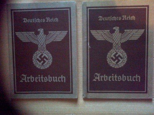 Livret Arbeitsbuch (Livret de travail des soldats Allemands)