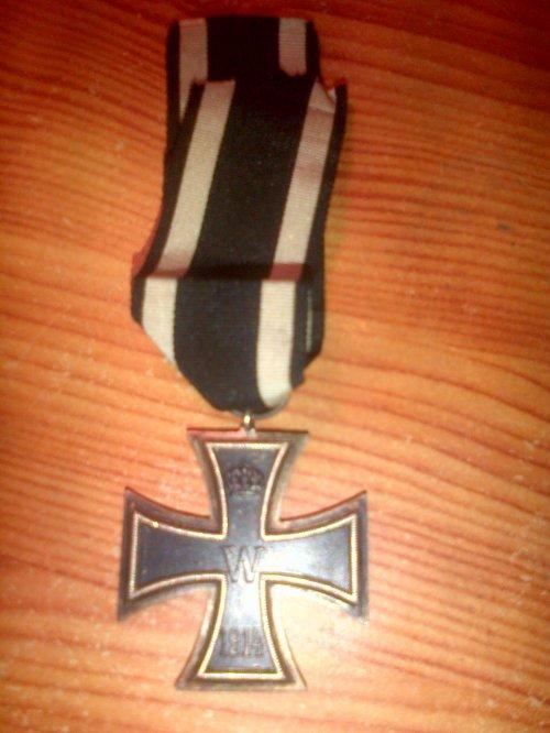 Croix de fer seconde Classe WW1.