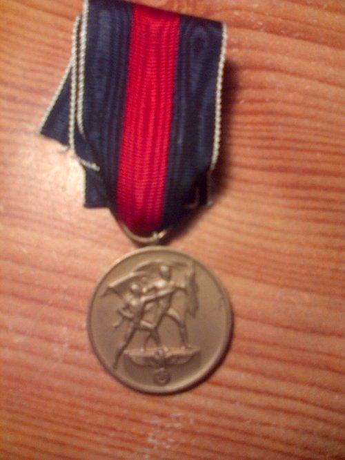 Médaille du 1er Octobre 1938