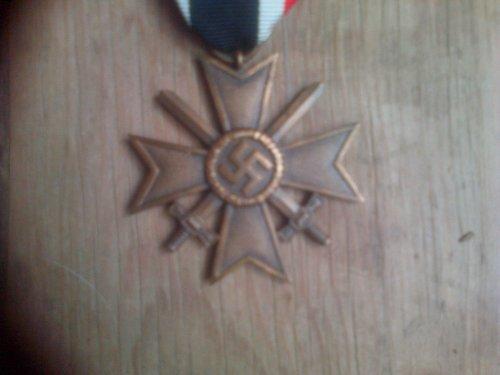 Croix du mérite de Guerre avec Glaives.