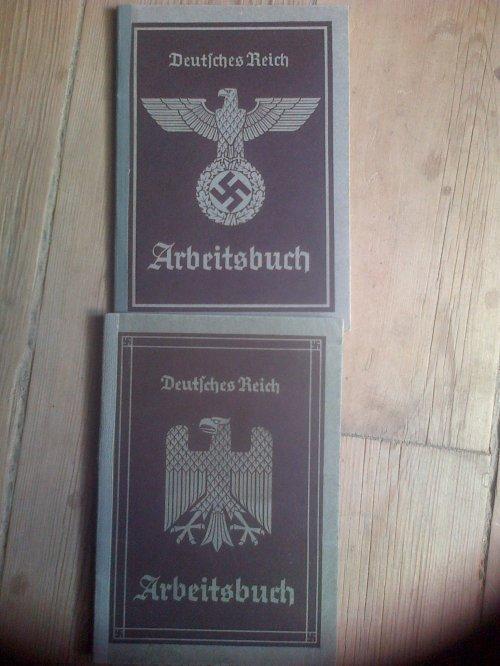 Livret Arbeitsbuch du Premier Type et du deuxième Type.