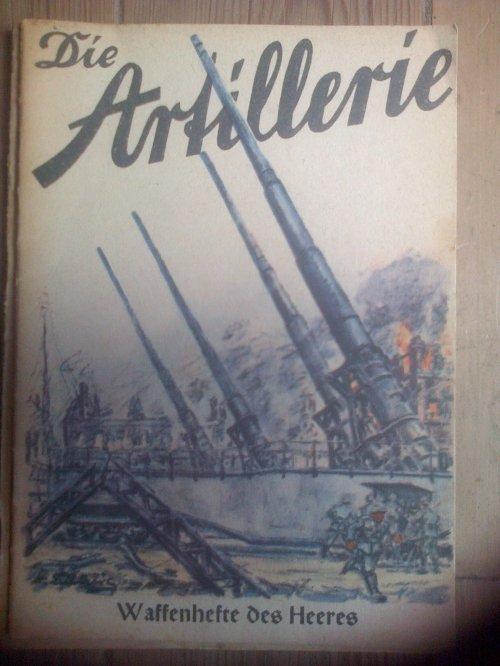 Livret de Propagande de l'Artillerie Allemande.