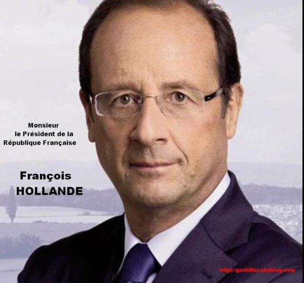 LE NOUVEAU PRESIDENT ELU : FRANCOIS HOLLANDE