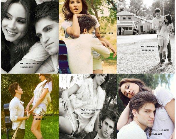 Troian Bellisario et Keegan Allen ont participé a un photoshoot pour le Troix Magazine du mois prochain.