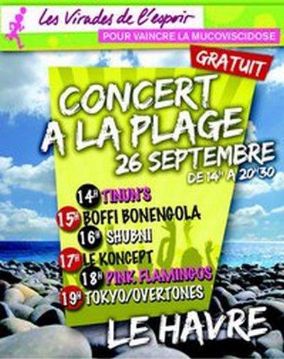 Concert du KONCEPT dimanche 26 Septembre