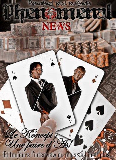 Le Phénoménal News n°6 est dispo, à lire d'urgence !!!