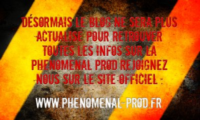 Fermeture du Blog Phenomenal Prod