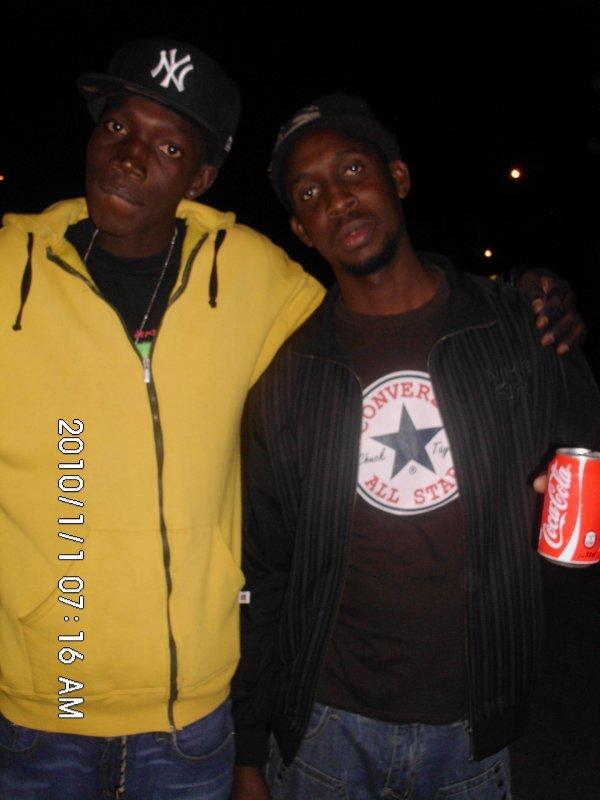 the killah and DJ gee mester