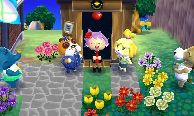 animal crossing new leaf ma ville amicro ^^