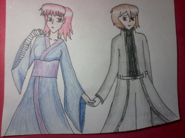 kazen et jo (coloriée)