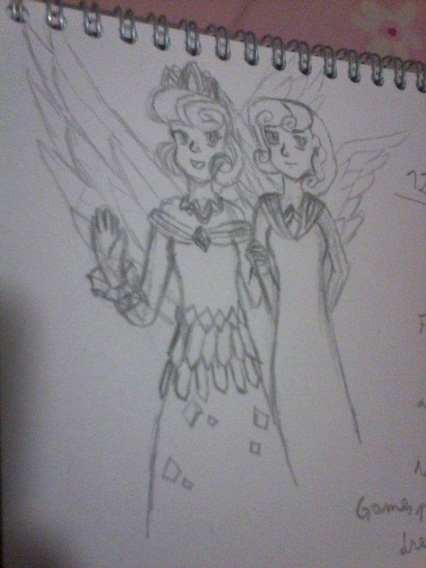Flurry heart et Skyla (mlp)