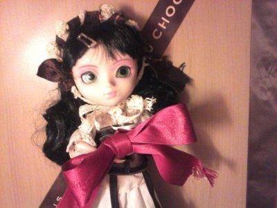séance photo avec Eternia en lolita chocolat