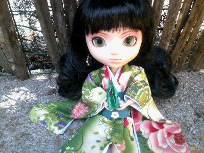Eternia en Kimono