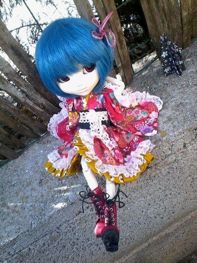 Reilyne en kimono
