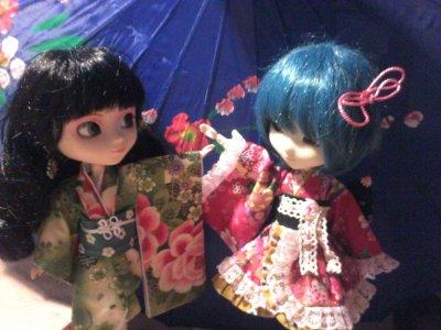Bonus Eternia et Reilyne en Kimono