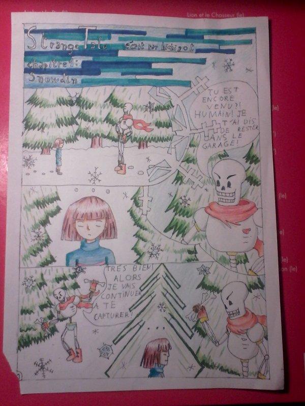 Strangetale BD undertale page 1