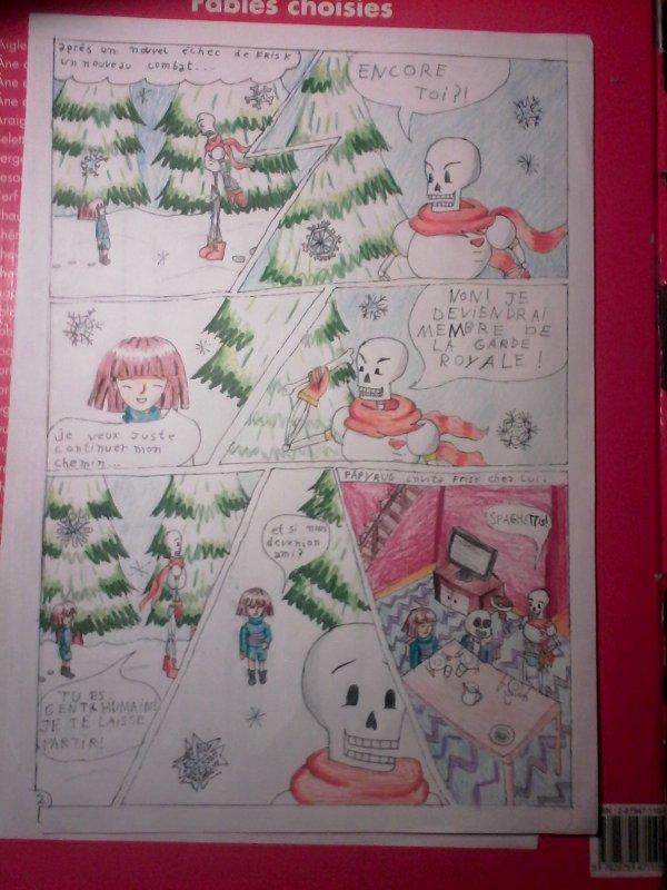 strangetale BD undertale  page 2