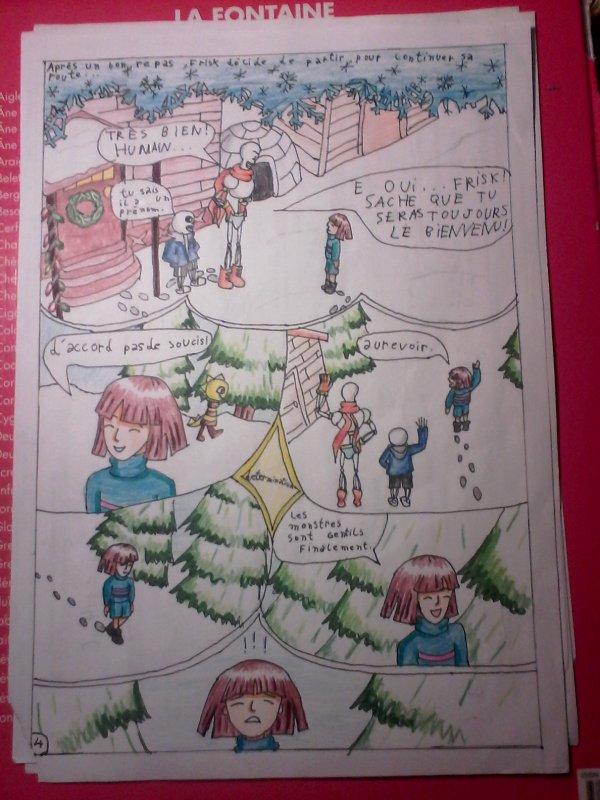 Strangetale BD undertale  page 3