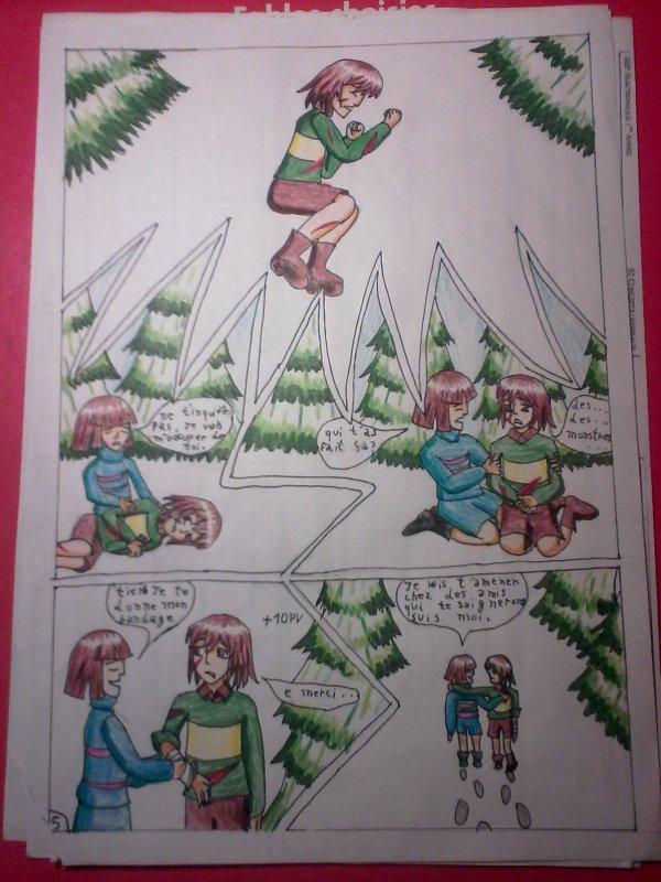 Strangetale BD undertale  page 4