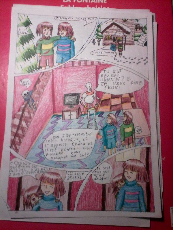 Strangetale BD undertale  page 5