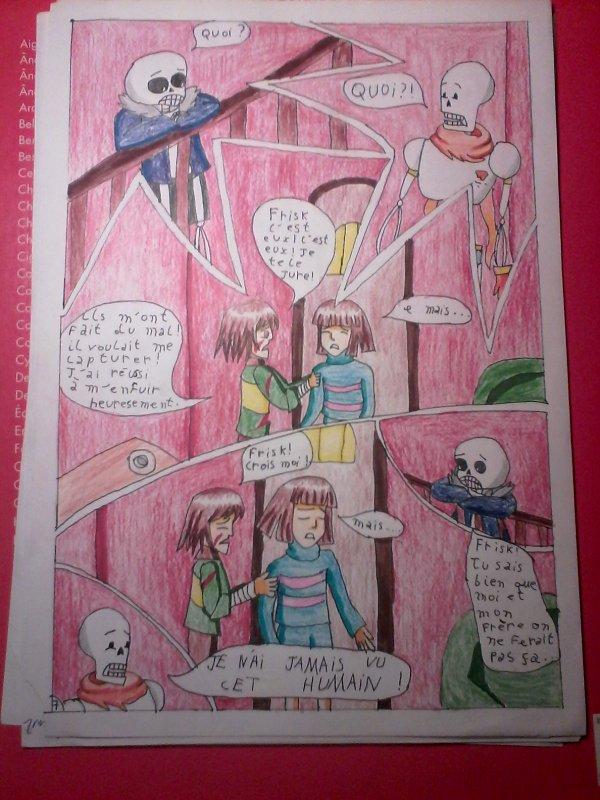 Strangetale BD undertale  page 6