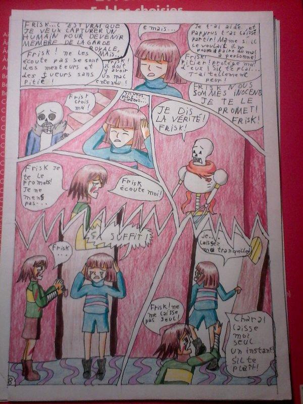 Strangetale BD undertale  page 7