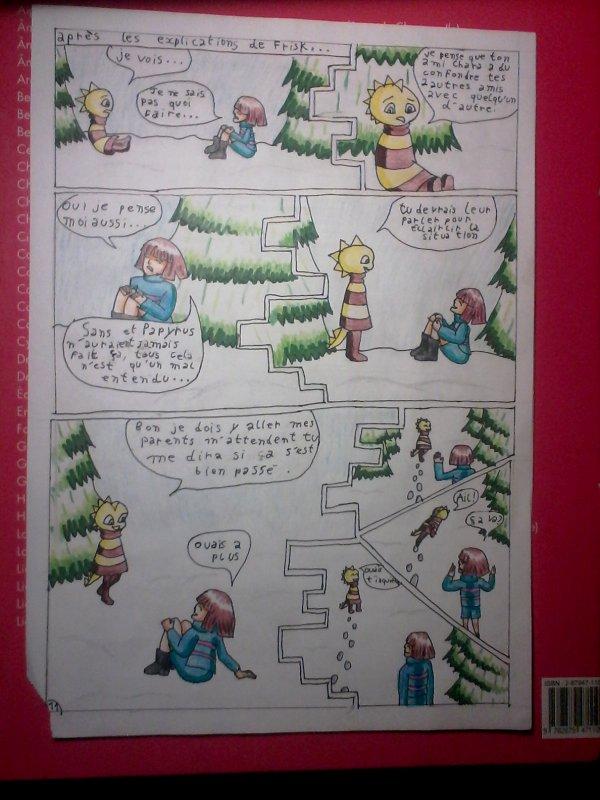 Strangetale bd undertale page 9