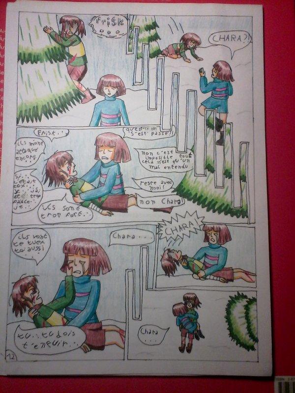 Strangetale bd undertale page 10