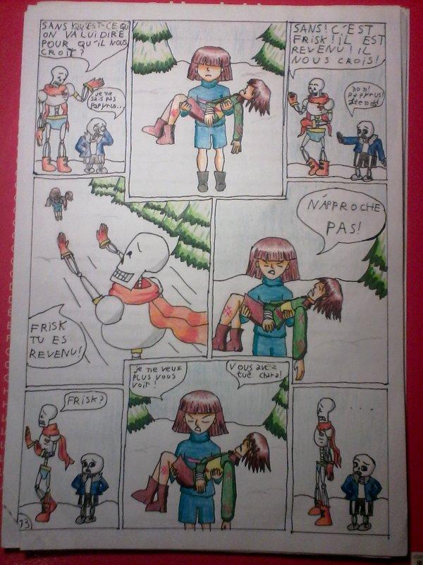 Strangetale bd undertale page 11