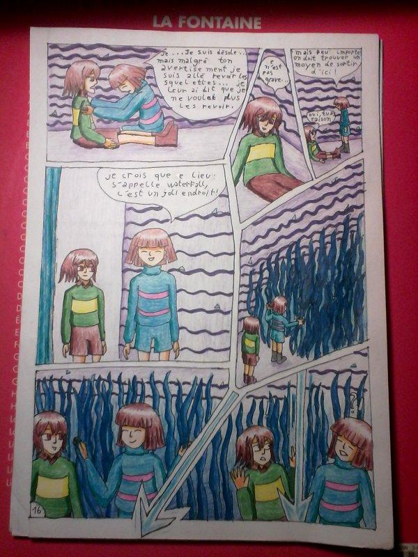 Strangetale Bd Undertale page 14