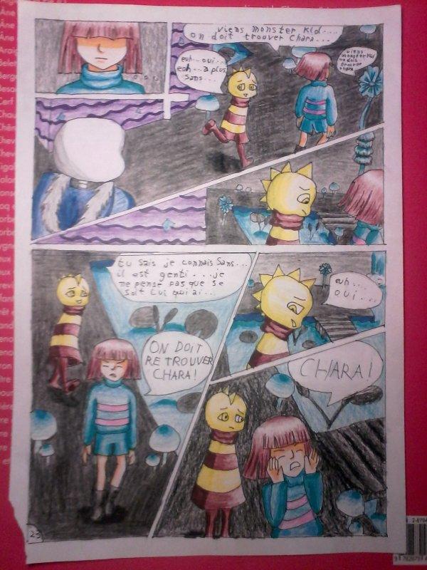 Strangetale Bd Undertale page 20